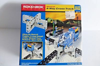 Rokenbok System Monorail 4-Way Cross Track 06717, New