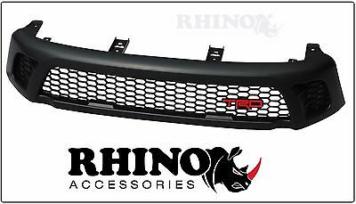 NEW Front Matt Black Grill Grille For Toyota Hilux SR SR5 2015 2016 2017 TRD