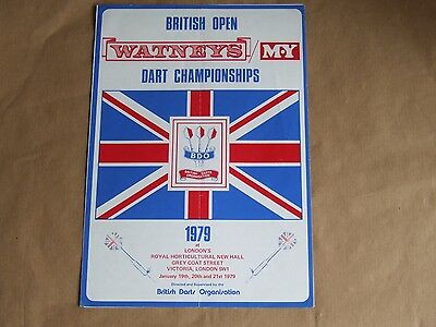 1979 Jan Watney's&m.y. British Open Singles, Mix Triples & Pairs Some Results