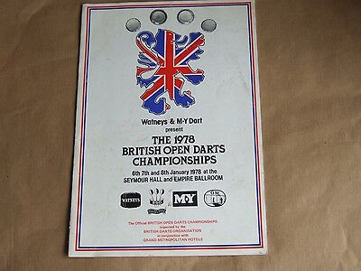 1978 Mint January Watney's & M.y. British Open Individual & Pairs