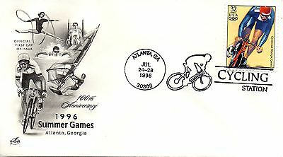 US Event 1996 Olympics Cycling Station, ArtCraft (6280)