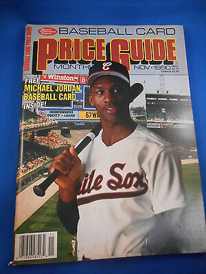 SCD Price Guide Michael Jordan on cover + Includes CARD #51 along, Nov 1990