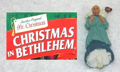 MR. CHRISTMAS IN BETHLEHEM Animated Nativity Replacement Part • Boy & Sheep #19