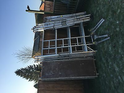 Boss Scaffolding  Tower Double Span 6.2M Working High