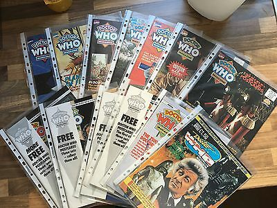 Dr Doctor Who Magazine - DWM Back Issues - 1990, 1992, 1993, 1994, 1995 - excel.