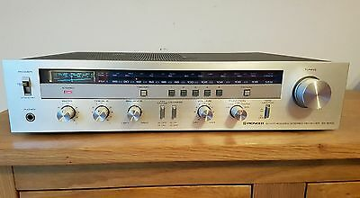 Vintage Pioneer Sx 600L Synthesized Stereo Receiver Amplifier