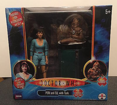 """Doctor Who - Vengeance on Varos  5"""" Action Figure Set Peri Sil - NEW"""