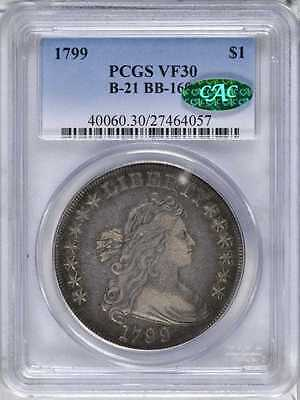 Please read, LOOKING FOR THIS 1799 draped bust dollar, PCGS VF30
