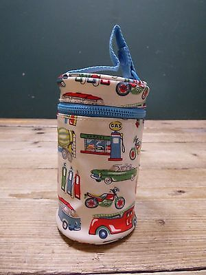 Small Cath Kidston Kids Vehicle Print Zip Up Cup Holder