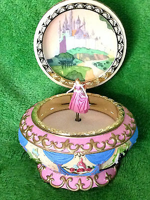 Disney Aurora  Sleeping Beauty Music Jewelry Box Pink