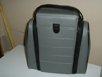 Fluke Carrying Case, Three Compartments, Detachable Side Compartments.