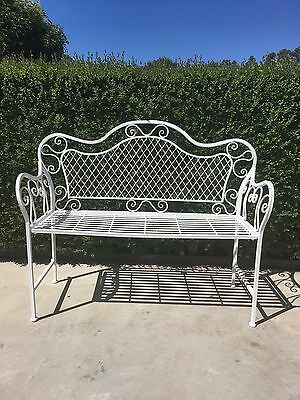 French Provincial Garden Bench Chair Seat Chair