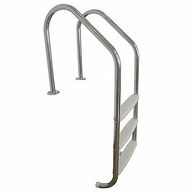 3 Step Swimming Pool Ladder Stainless Steel In Ground Steps For Home Pools New