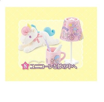 """Re-Ment """"Little Twin Stars Room, #8 - Night Time set"""" - 1:6 dollhouse miniatures"""