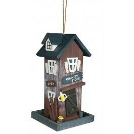 Trixie Mangeoire Country Store 17 × 31 × 16 cm bois brun