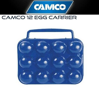 Camco 12 Egg Carrier - Camping & Outdoors Essentials, Cooking Camp