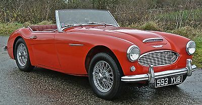 1960 AUSTIN HEALEY  3000 BT7  Works Hard Top Low mileage with History !