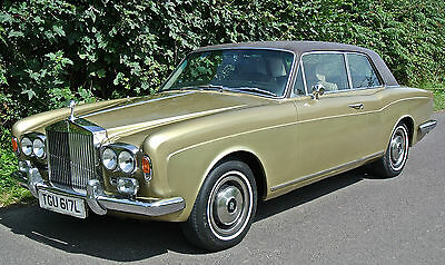 ROLLS ROYCE  CORNICHE COUPE 1973     ( LPG)      History from NEW!