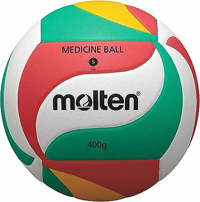 Molten Setter Training Volleyball, Green/Red/Yellow/White