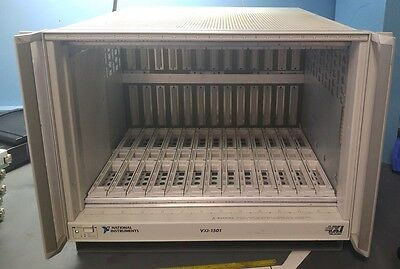 National Instruments Vxi-1501 Chassis W/ Power Supply