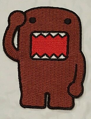 domo kun monster patch dark horse toy fair new embroidered domonation 3""