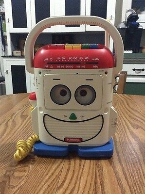 Vintage Playskool Toy Story Mr Mike Voice Changer Cassette Player Recorder
