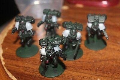 Warhammer 40k Space Marines Assault Squad On Flying Bases