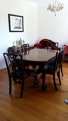 Dining Table Antique Mahogany