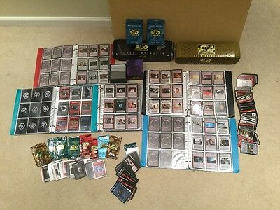 HUGE LOT 3,500+ STAR WARS CCG CARDS 1st & 2nd Anthology Expansions & Many Series