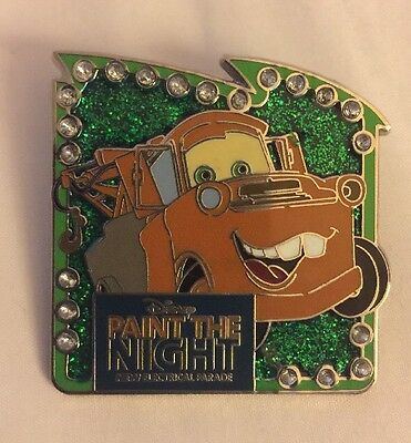 Disney 2015 Paint The Night Mater Cars Pin D60 Parade 109895 Limited Conceal