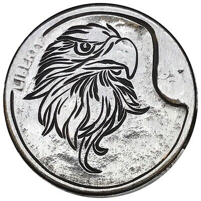 Hobo Nickel Coin Art Bald Eagle Patriotic USA Hand Engraved America Carved 28