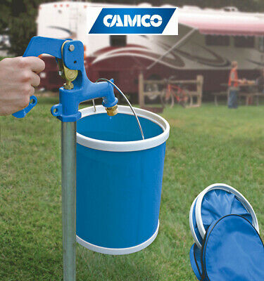 Camco Rv Collapsible Bucket 11L Capacity - Camping & Outdoors Accessories