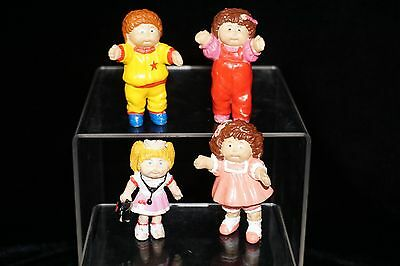 Cabbage Patch Figures Figurines Miniatures PVC Cake Toppers Vintage