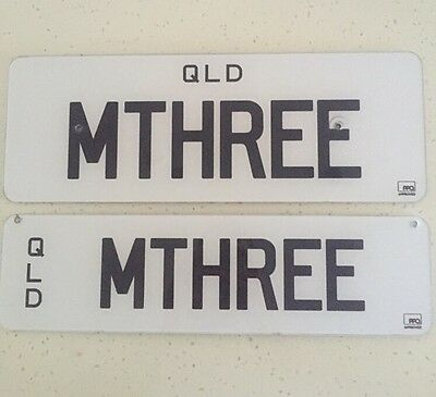 QLD Personalised Number Plate For BMW M3