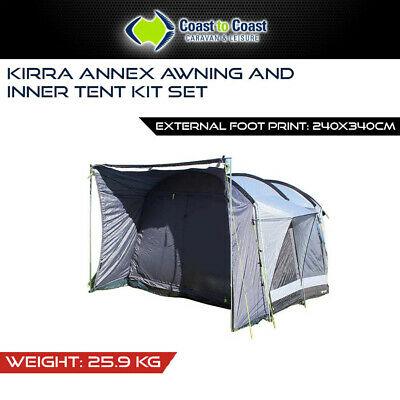 Coast Kirra Annex Awning And Inner Tent Kit Set Fits Rv, Vans & Caravans& Camper