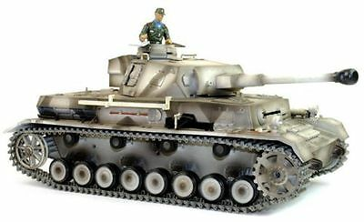 Taigen Hand Painted RC Tanks - Metal Upgrade - Panzer IV - 2.4GHz