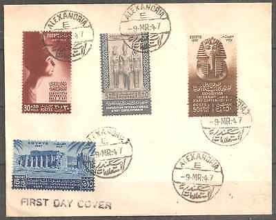 Egypt 1947 Very Fine First Day Cover