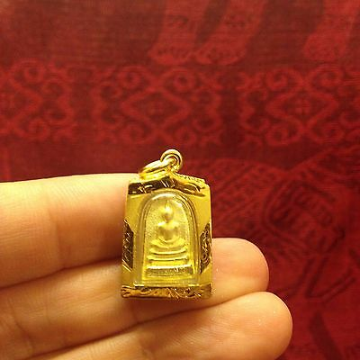 Somdej Toh Kuato (Benjapakee) Thai Buddha Amulet Magic Luck Rich Wealth Protect