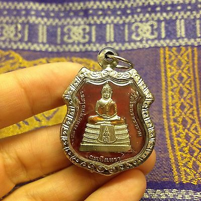 Lp So thorn Sacred Thai Buddha Amulet Luck Rich Wealth Life-Protect Happiness