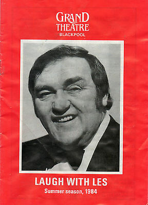 """laugh With Les""-(Dawson)-Summer Season-1984-Grand Theatre, Blackpool."