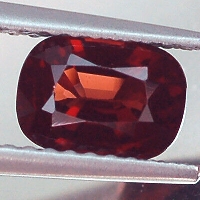 1.20Ct Awesome Vvs Cushion Red Unheated Spinel Natural