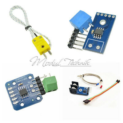 Competitive MAX6675 MAX31855 Module + K Type Thermocouple Sensor for Arduino
