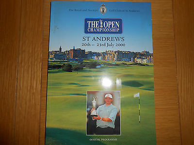 Golf The Open Championship Official Programme 2000