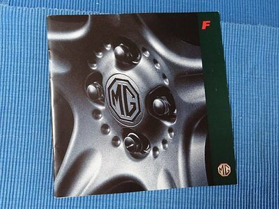MGF 1996 SALES BROCHURE,classic,leaflet,sports car,book,magazine,midget,MG cars