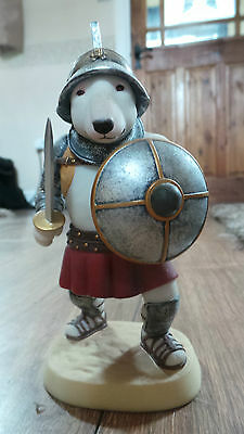 English Bull Terrier Statue Doggie People Dp215W Gladiator