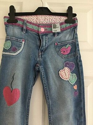 Girls Jeans Age 7-8