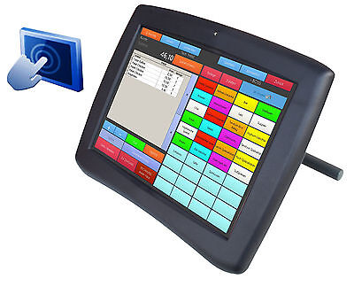 "30.5cm 12"" POS LCD MONITOR FÜR KASSE AD-1240B MIT USB + RS-232 TOUCHSCREEN"