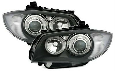 Bmw 1 Series E81 E82 E87 E88 Angel Eye Headlamps Headlights Projector, Depo