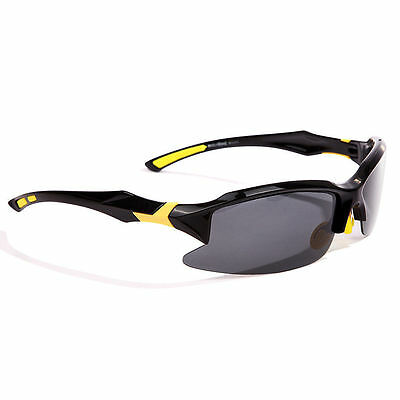 Black/Yellow Outdoor sports UV400 Polarized Sunglasses Aviator, Driving Glasses