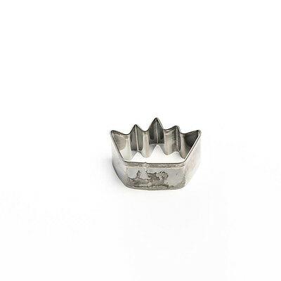 Mini Crown Stainless Steel Cookie Cutter